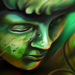 Tattoos - Green Cherub - 74136